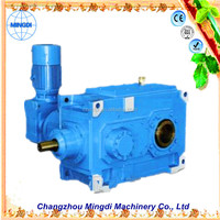 PV Reverse Helical Bevel Gearbox Transmission Parts with engine gear reduction diesel engines & Electric Motor