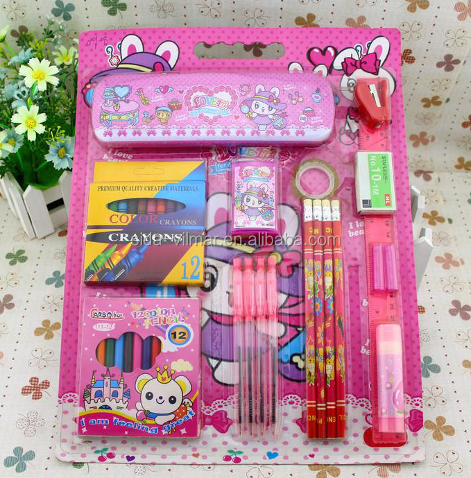 school supplies stationary stationery set for kid