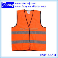 wholesale high quality high vis reflex safety vest