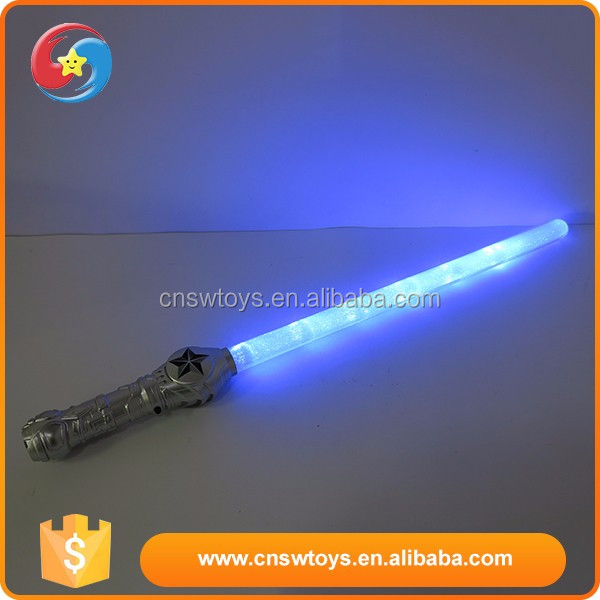 Hot sale plastic interest children latest kids led flashing sword