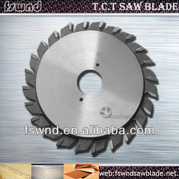 High grade T.C.T Grooving Saw Blade/Commonly used woodworking cutting tools