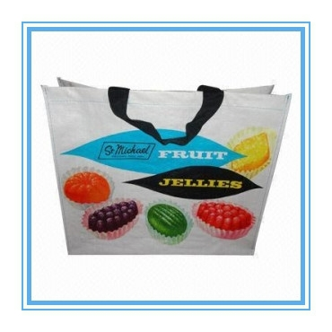 New Arrival Recycled PP wholesale reusable shopping bags