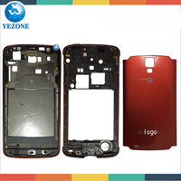 Original Repair Parts Cover For Samsung Galaxy s4 Active i537 i9295 Housing Complete , S4 Active Front Bezel Back Housing Door