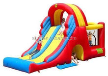 hot sale cheap juegos inflables/inflatable combo with slide