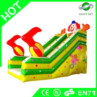 High quality and safe inflatable slide,inflatable slide obstacle,inflatable jump & slide combo