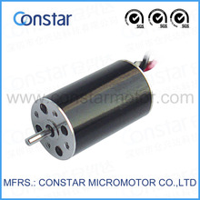 7.4V 20000rpm slotless precision model aircraft small brushless dc motor