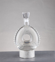 High quality remy martin brandy spirit glass bottles for sale