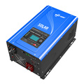 Hybrid mppt solar charge controllers with inverter Complete Solar Power System Home 1000w for Camping home
