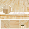 factory price wooden finger joint laminated board for decoration