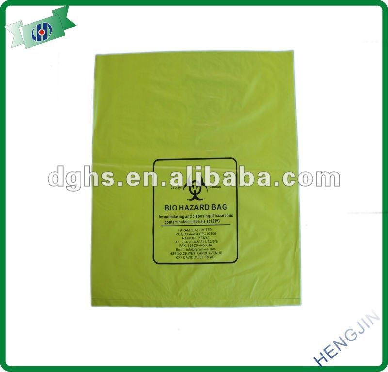 2017 hosiptal medical waste bag/ medical waste bags /medical garbage bags