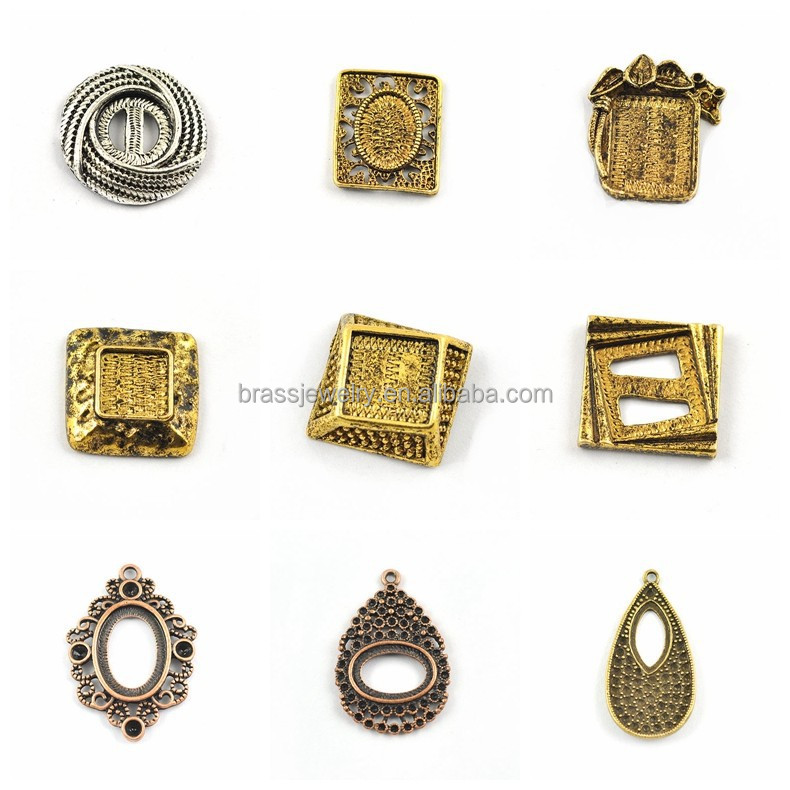 Many Different Designs Hot Selling High Quality Cheap Wholesale Raw Materials for Jewellery
