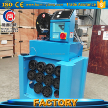Professional manufacture Hydraulic Hose Swaging Machine price for rubber