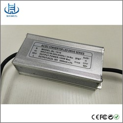 24v - 40v 200W led waterproof power supply for Project-light Lamp