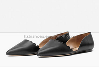 Women Fancy Flat Dress Shoes Footwear Factory Cheap Bulk Shoes
