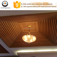 Hot Sale Manufacturer Ecological Wood House Decoration Ceiling Board / Panel
