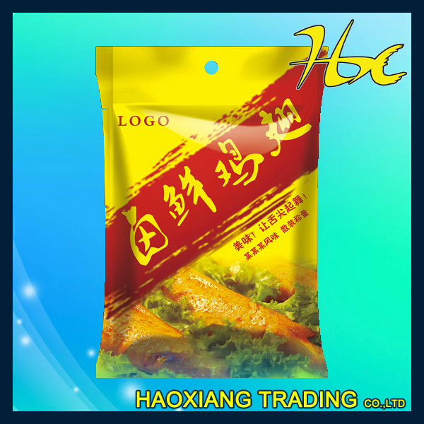 chicken wings plastic aluminium packing hdpe food packaging