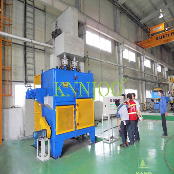 Durable Electronic Industrial Machine Wire Rod Surface Shot Blasting Machine