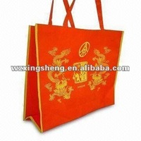 2013 free sample high quality promotion non woven shopping bag non woven cloth fold&rolling machine