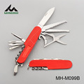 Multi function knife with aluminium handle