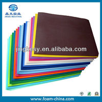 non-toxic EVA foam sheet for insole sole and heel