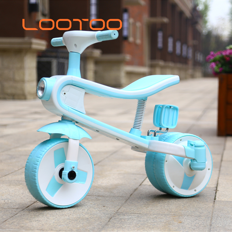 Best selling toys baby trolley <strong>3</strong> wheel / children three-<strong>wheeled</strong> <strong>bicycle</strong>