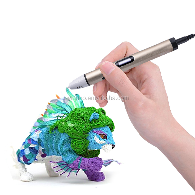 Hottest 3D Arts & Crafts Drawing Doodle Printer Pen 3d printing pen with FREE 5m PLA Filament