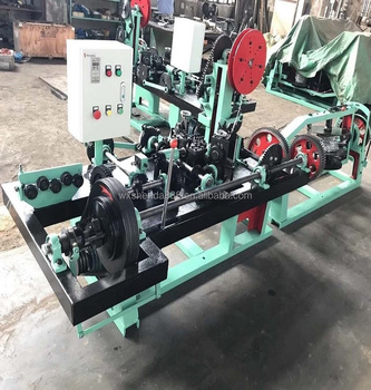 Automatic Best Price Double Single Twisted Barbed Wire Making Machine CS-B (Manufacturer)