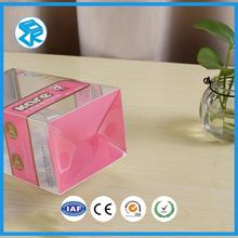 custom mobile phone case plastic packaging pet transparent pvc boxes