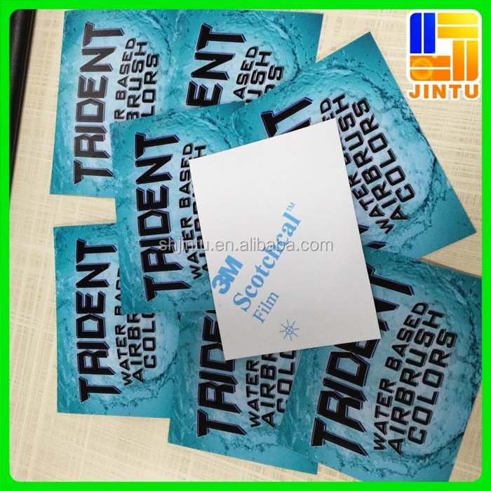 3M waterproof vinyl stickers and logo sticker printing