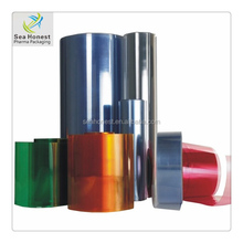 Customized size clear PVC film plastic boxes for packaging