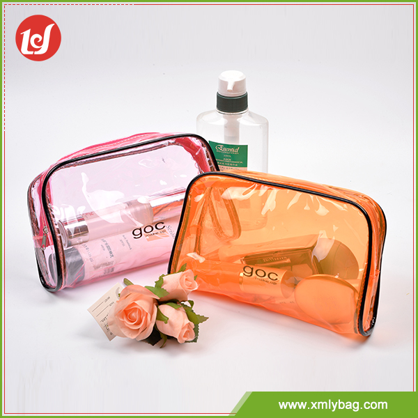 fashion promotional custom travel PVC cosmetic Bag toiletry bag