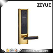 Good quality Copper Material Radio Frequency RFID key card lock for hotel ET820RF