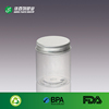 China new product round plastic jar food grade transparent cosmetic jar manufactures BPA free clear plastic cylinder container
