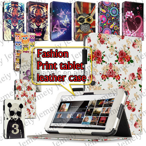 New 9.4inch Flowers/Animal/Butterful Printing PU Leather Android Tablet Folio Case Cover For Sony Tablet S1 SGPT111CN/S