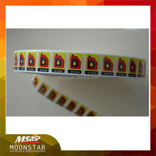 2016 new customer variable date digital printing vinyl label
