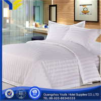 hotel manufacter stripe bright pastel colors flat bed sheets