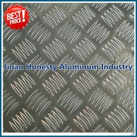 price of 1100 h24 polished aluminum checker plate weight