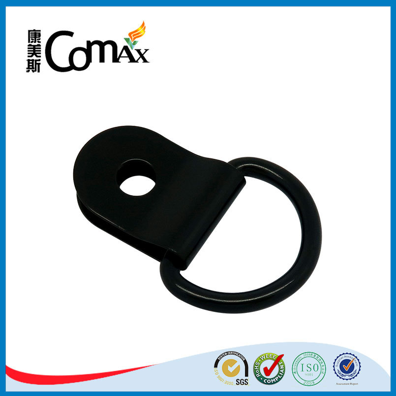 Black bag metal hook hardware fittings d ring