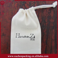 China custom silver printing decorative cotton fabric sling bag