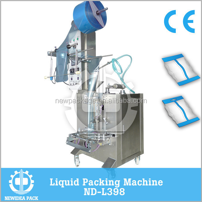 ND-L398 Back Sealing Automatic Water Oil Liquid Packing Machine
