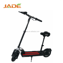 Two wheel folding 400W power big battery electric scooter with seat for adults