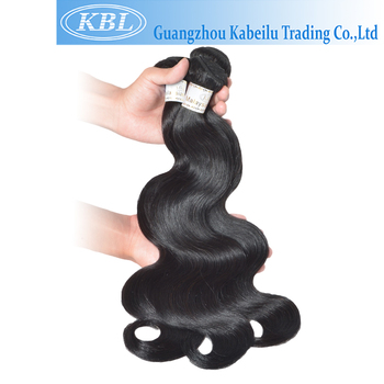 KBL hair quality a bundle of 7a malaysian straight hair,100% mink hair malaysian hair,raw baby curl human hair