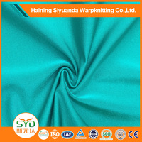 Knitting Stretch Polyamide Lycra Satin Lingerie Plain spandex Fabric