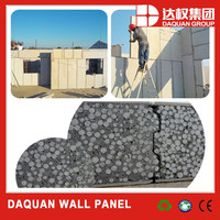 96% eco green eps wall Panels - eps fiber cement panels Wuhan Daquan
