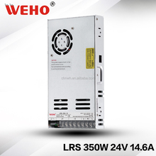 AC-DC 350W 24V 14.6A single output led switching power supply