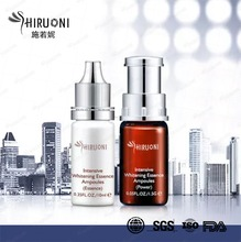 Moisturizing and Whitening Facial Treatment Ampoules Essence Serum