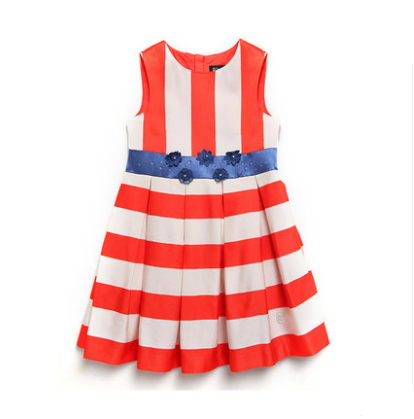 2017 baby frock design pictures tangerine kids party wear dresses for girls Yolove baby frock designs