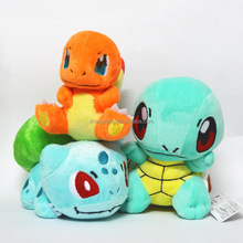 Fashion 100% Cotton Pokemon Pikaqiu Plush Toy Doll