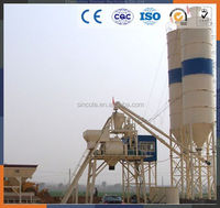 Top sale small concrete batch plant ready mixed concrete batching plant HZS25