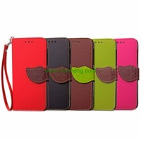 Cheap Price Lychee Lines Buckle Wallet Stand Flip PU Leather Case For Samsung Galaxy S9 Plus